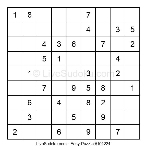 Beginners Puzzle #101224