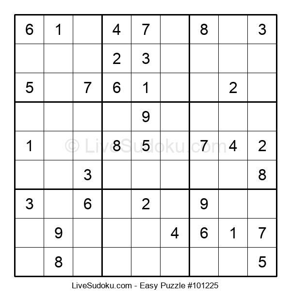 Beginners Puzzle #101225