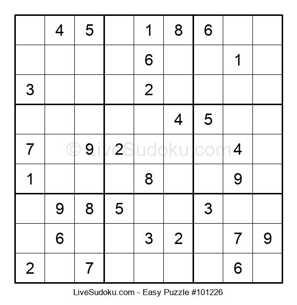 Beginners Puzzle #101226