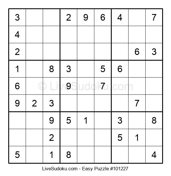 Beginners Puzzle #101227