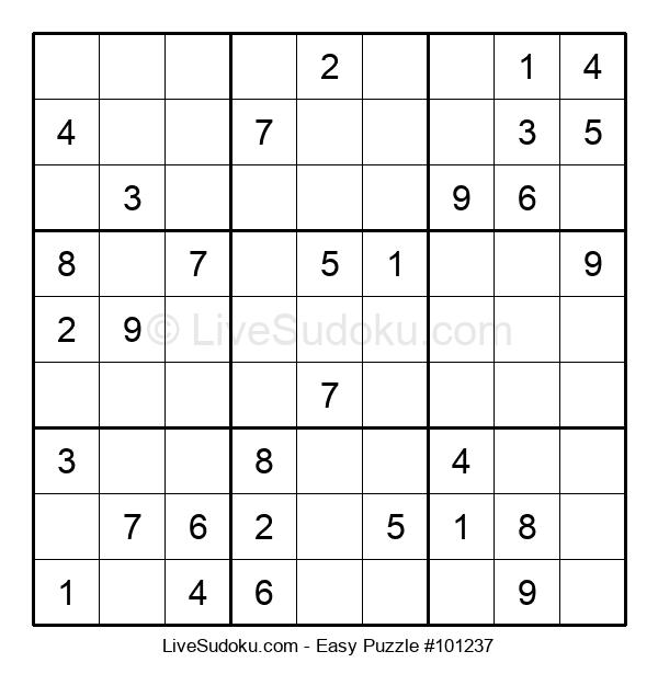 Beginners Puzzle #101237