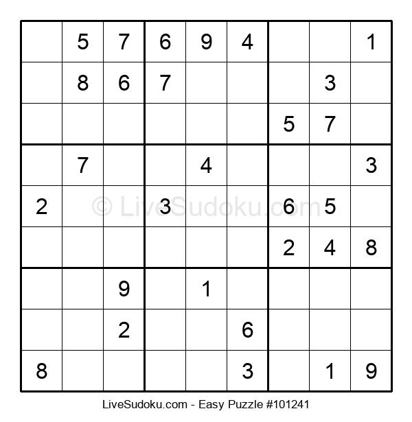 Beginners Puzzle #101241