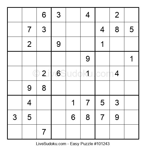 Beginners Puzzle #101243