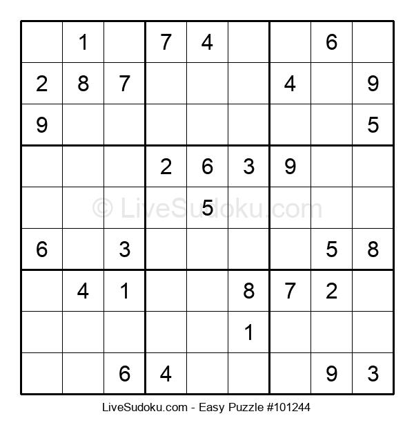 Beginners Puzzle #101244
