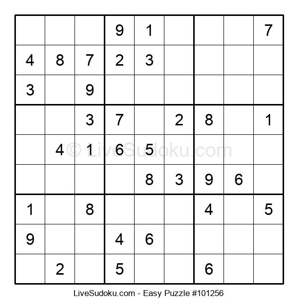 Beginners Puzzle #101256