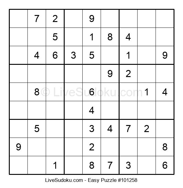 Beginners Puzzle #101258