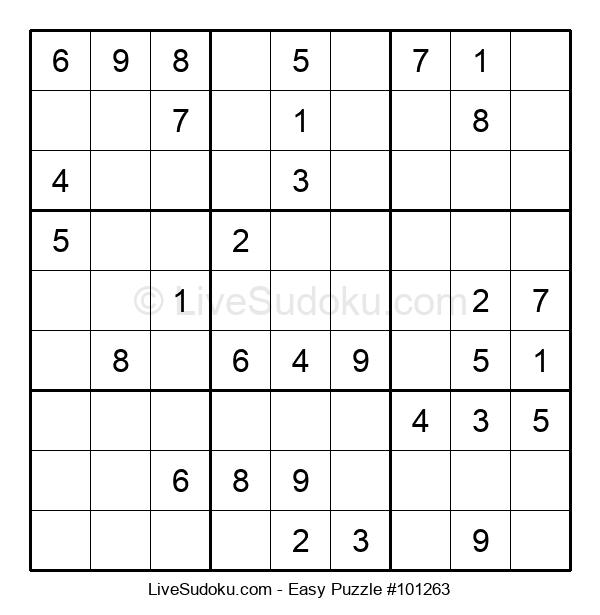Beginners Puzzle #101263
