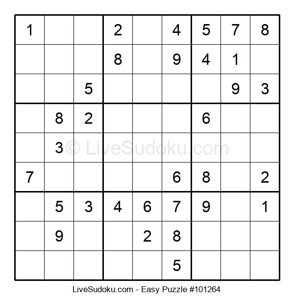Beginners Puzzle #101264