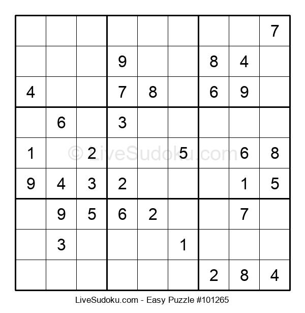 Beginners Puzzle #101265