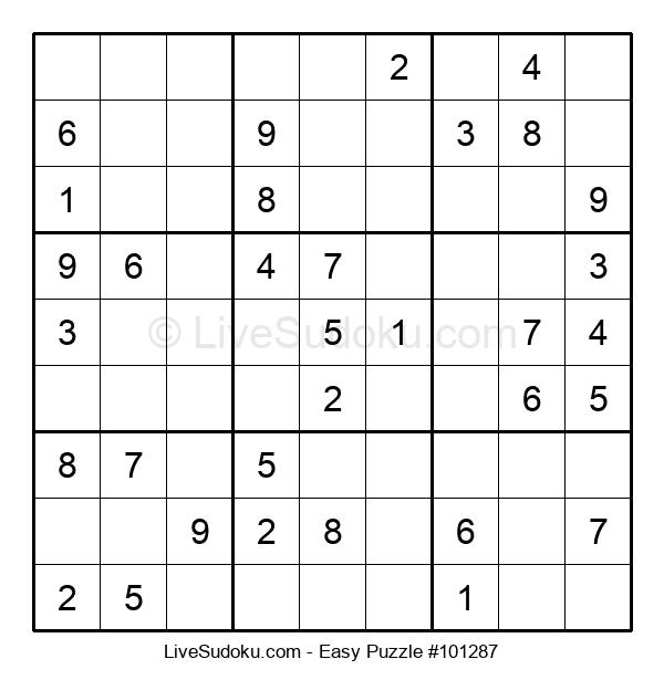 Beginners Puzzle #101287