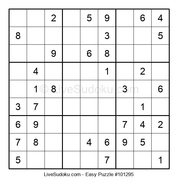 Beginners Puzzle #101295