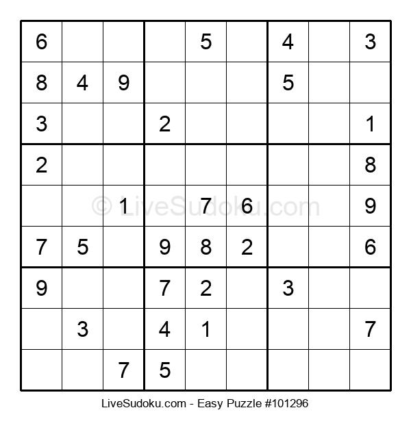 Beginners Puzzle #101296