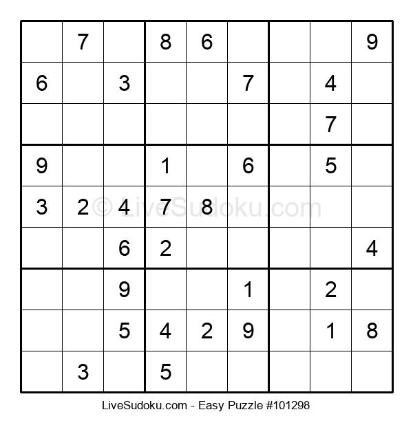 Beginners Puzzle #101298