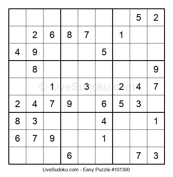 Beginners Puzzle #101300