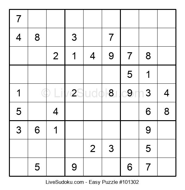 Beginners Puzzle #101302