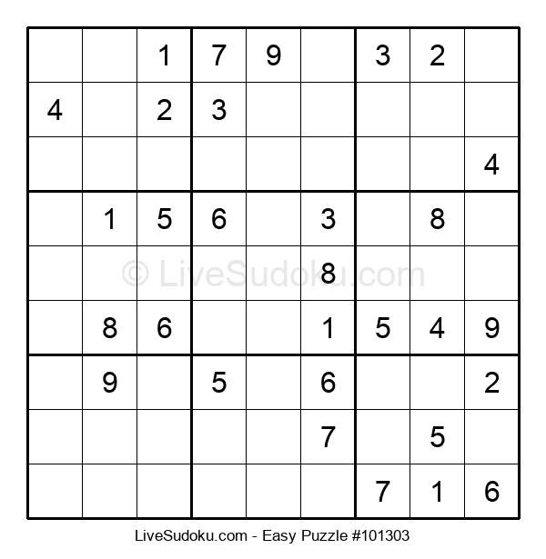 Beginners Puzzle #101303