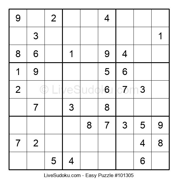Beginners Puzzle #101305