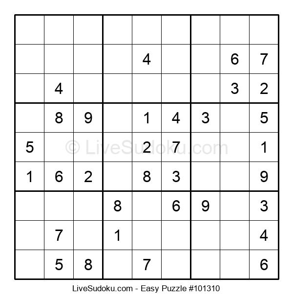 Beginners Puzzle #101310