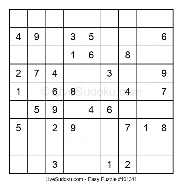 Beginners Puzzle #101311