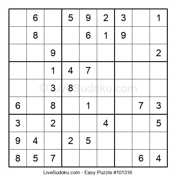 Beginners Puzzle #101316