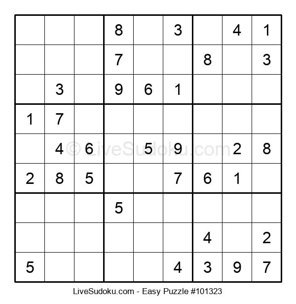 Beginners Puzzle #101323