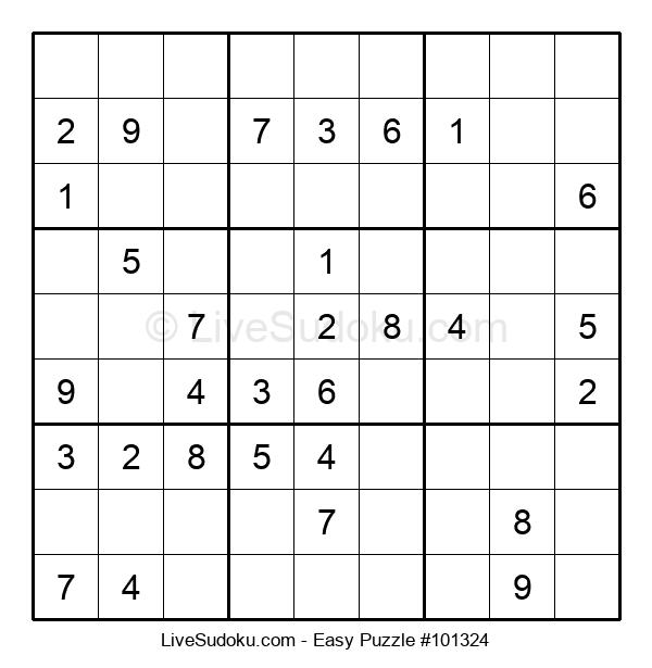 Beginners Puzzle #101324