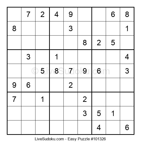 Beginners Puzzle #101326