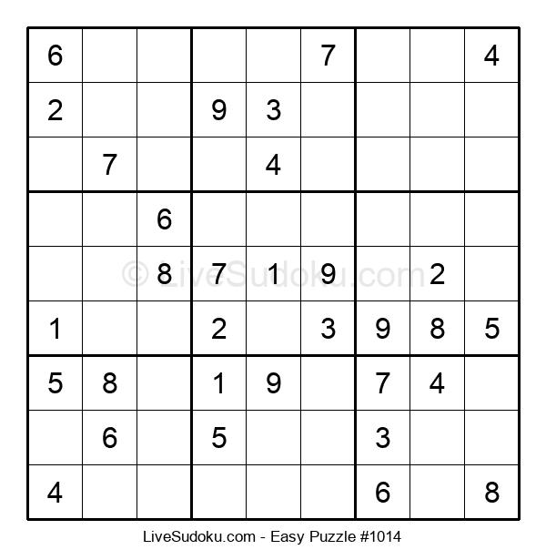 Beginners Puzzle #1014