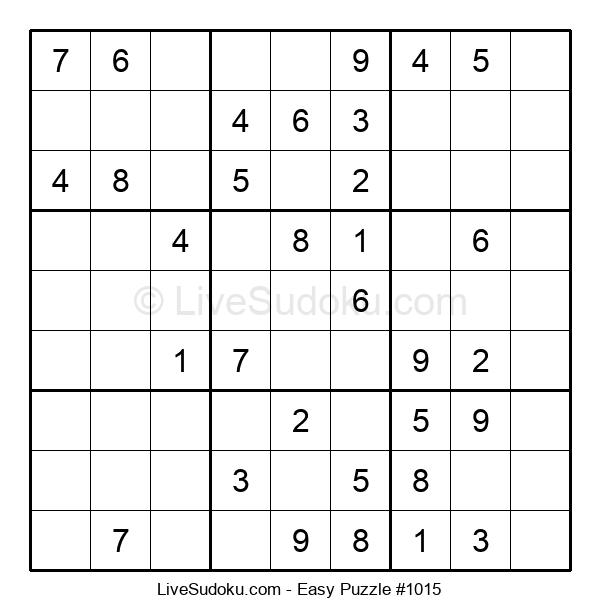 Beginners Puzzle #1015