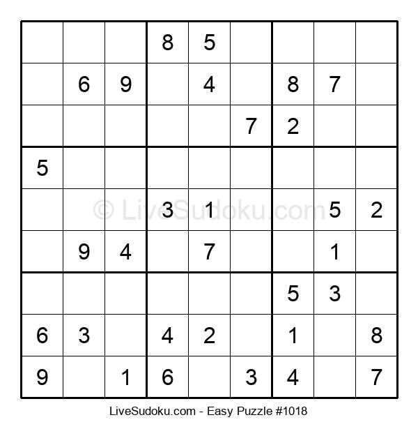 Beginners Puzzle #1018
