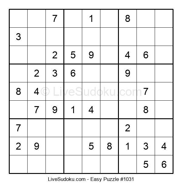 Beginners Puzzle #1031