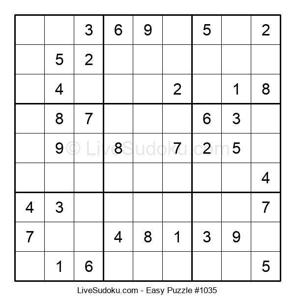 Beginners Puzzle #1035