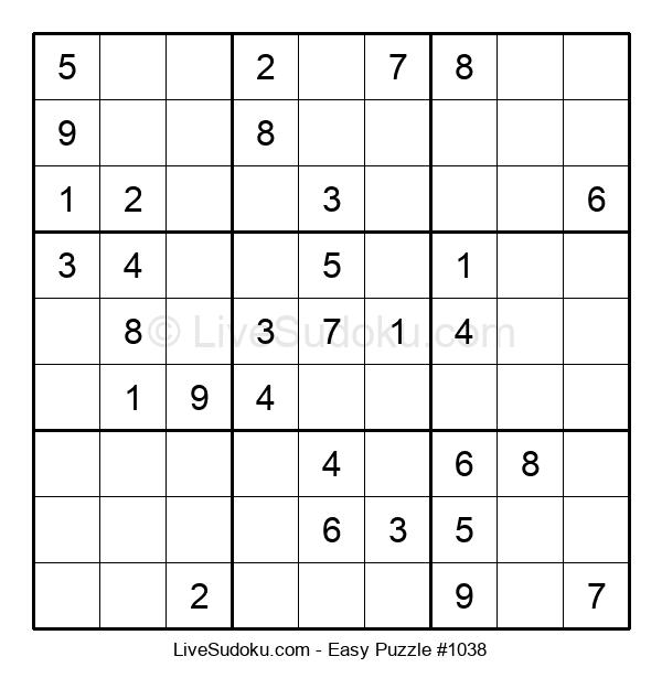 Beginners Puzzle #1038