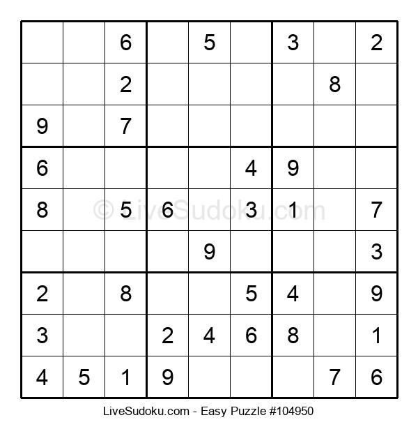 Beginners Puzzle #104950