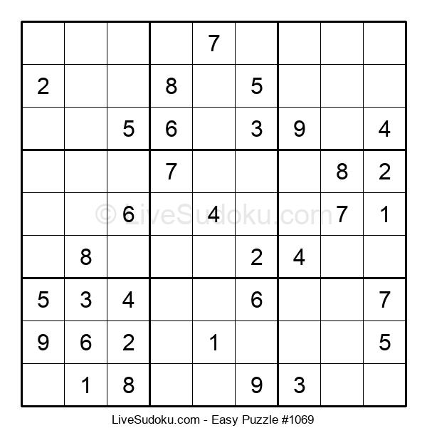 Beginners Puzzle #1069
