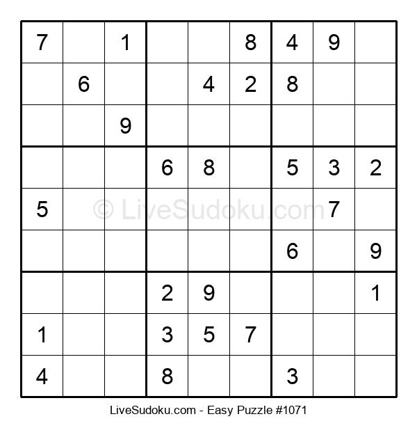 Beginners Puzzle #1071