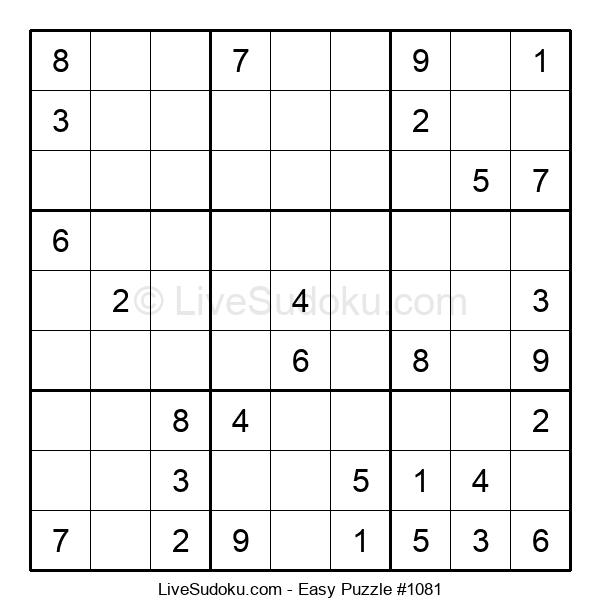 Beginners Puzzle #1081