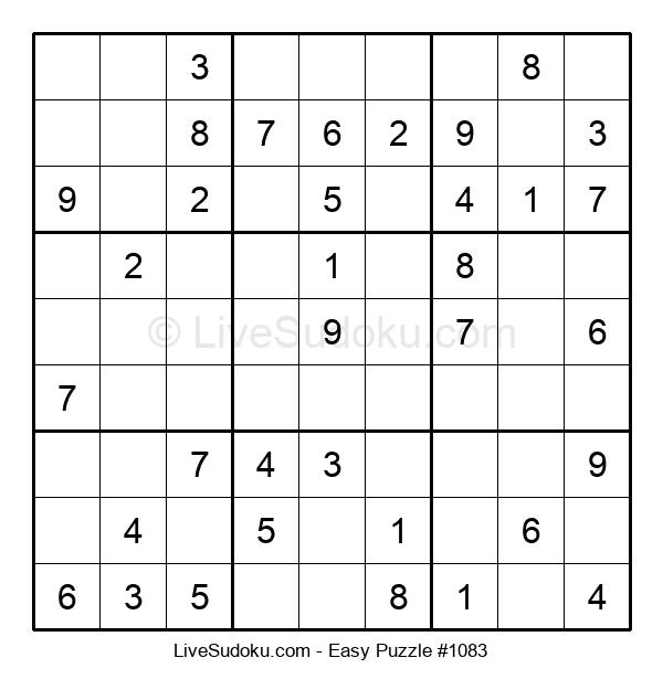 Beginners Puzzle #1083