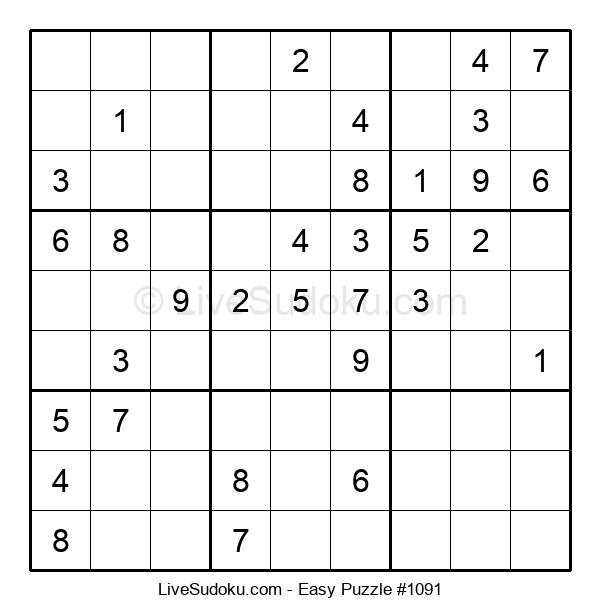 Beginners Puzzle #1091