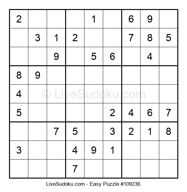 Beginners Puzzle #109236