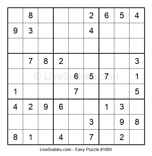 Beginners Puzzle #1093
