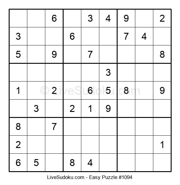 Beginners Puzzle #1094
