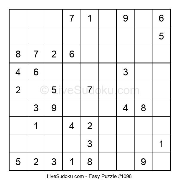 Beginners Puzzle #1098