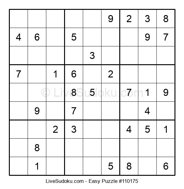 Beginners Puzzle #110175
