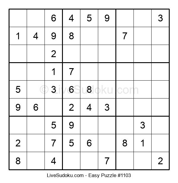 Beginners Puzzle #1103