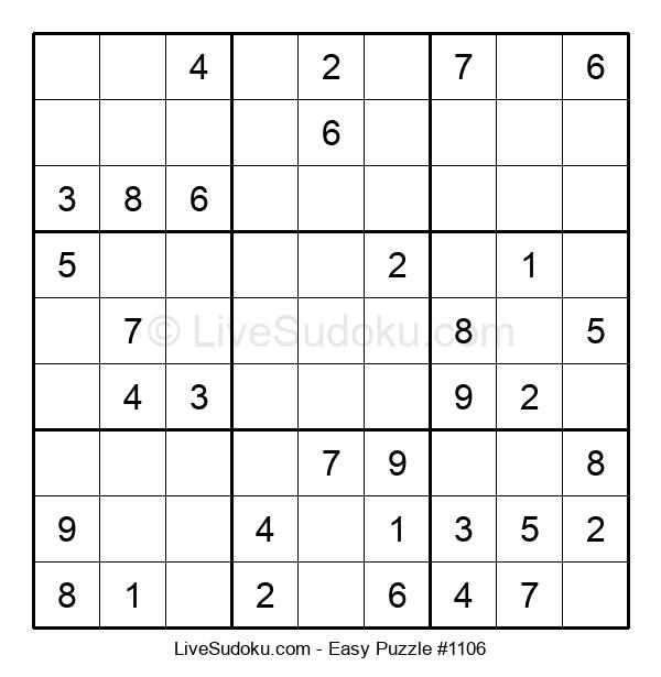 Beginners Puzzle #1106