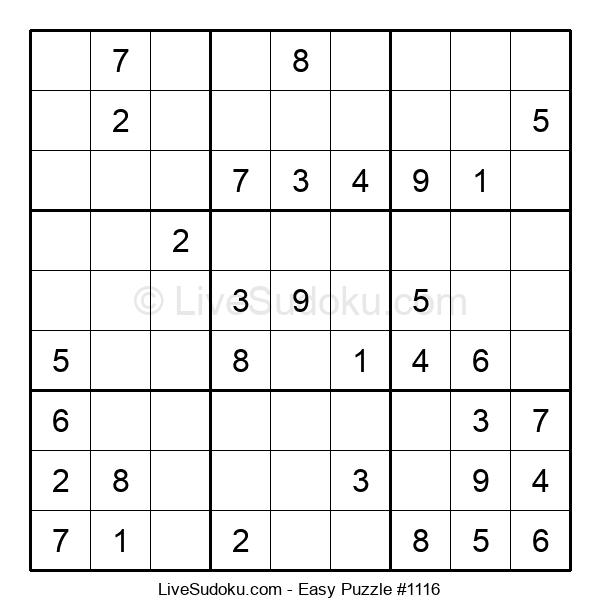 Beginners Puzzle #1116
