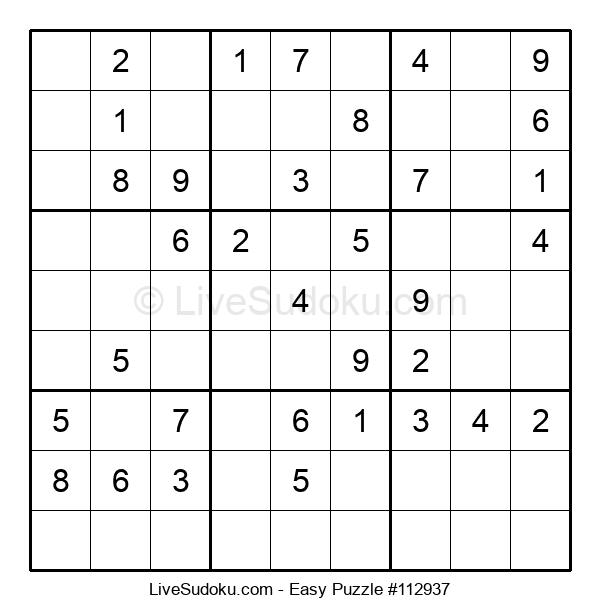 Beginners Puzzle #112937