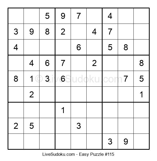 Beginners Puzzle #115