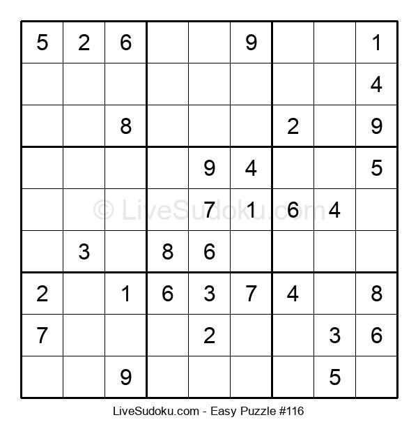 Beginners Puzzle #116